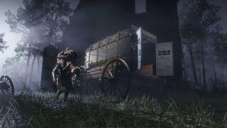 Red Dead Online Bounty Wagon
