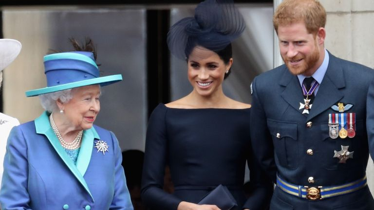 The Queen speaks to Meghan Markle and Prince Harry