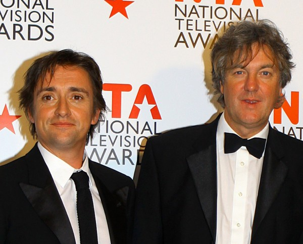 Richard Hammond and James May.