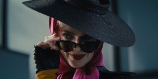Margot Robbie smirking as Harley Quinn in Birds of Prey