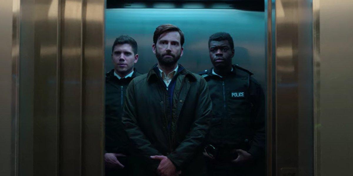 David Tenant in the UK-set version of Criminal