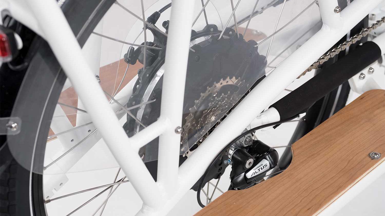 Rad power bikes RadWagon hub