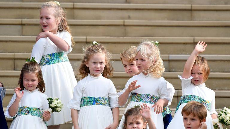 The Queen's great Grandchildren