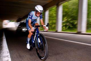 Lizzie Deignan (Trek-Segafredo) during stage 4 of the Giro d'Italia Donne
