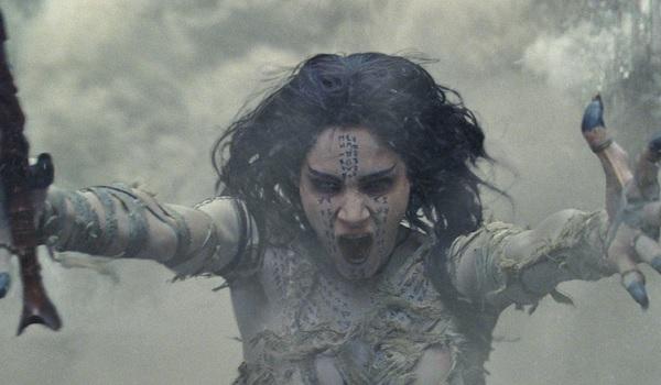The Mummy Sofia Boutella dust storm