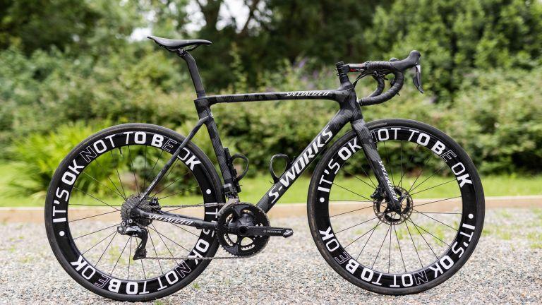 Specialized Roubaix ridden by ultra cyclit Jack