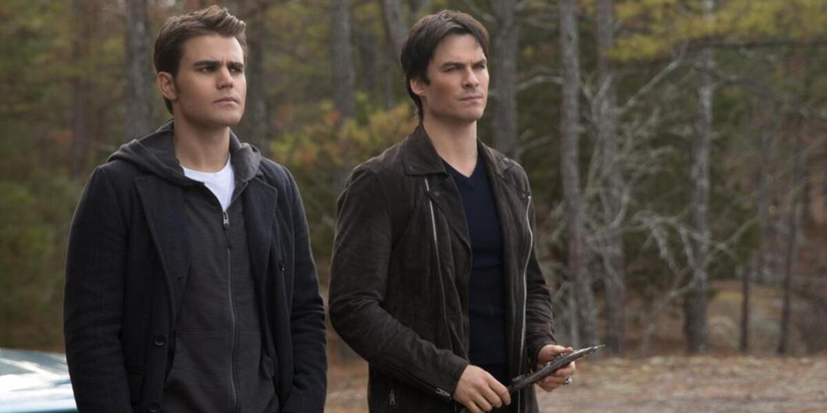 The Vampire Diaries Paul Wesley Stefan Salvatore Ian Somerhalder Damon Salvatore The CW