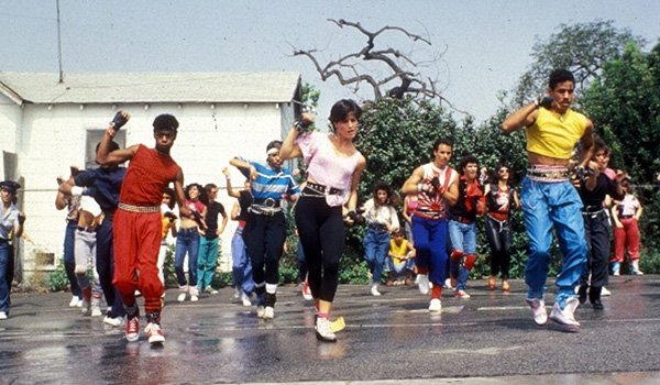 O-Zone and Turbo and company breakdancing in Breakin'