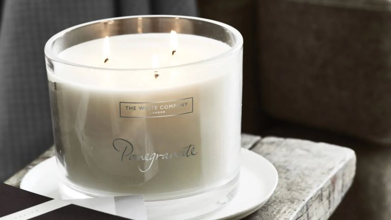Home fragrance: The White Company Pomegranate candle