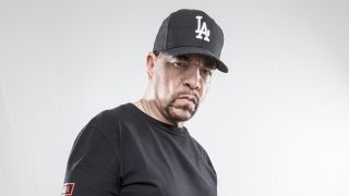 a portrait of ice t