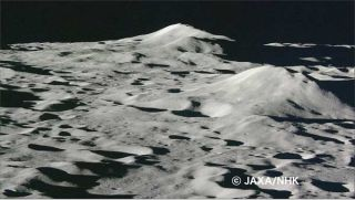Pictures Reveal Kaguya Moon Probe's Final Moments