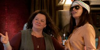 Melissa McCarthy and Sandra Bullock in The Heat