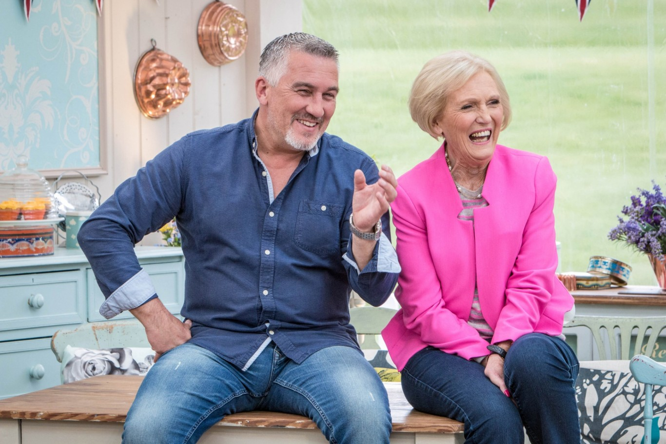 Paul Hollywood and Mary Berry in The Great British Bake Off (BBC/Love Productions/Mark Bourdillon)