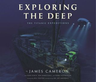 """""""Exploring the Deep: The Titanic Expeditions"""" is a richly illustrated book that tells the story of James Cameron's many dives to the ship, featuring many previously unpublished photos from within the wreckage."""