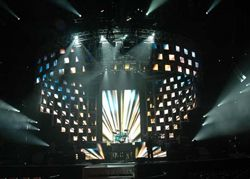 I-MAG Video and Barco OLite/DLite for Rascal Flatts nationwide tour.