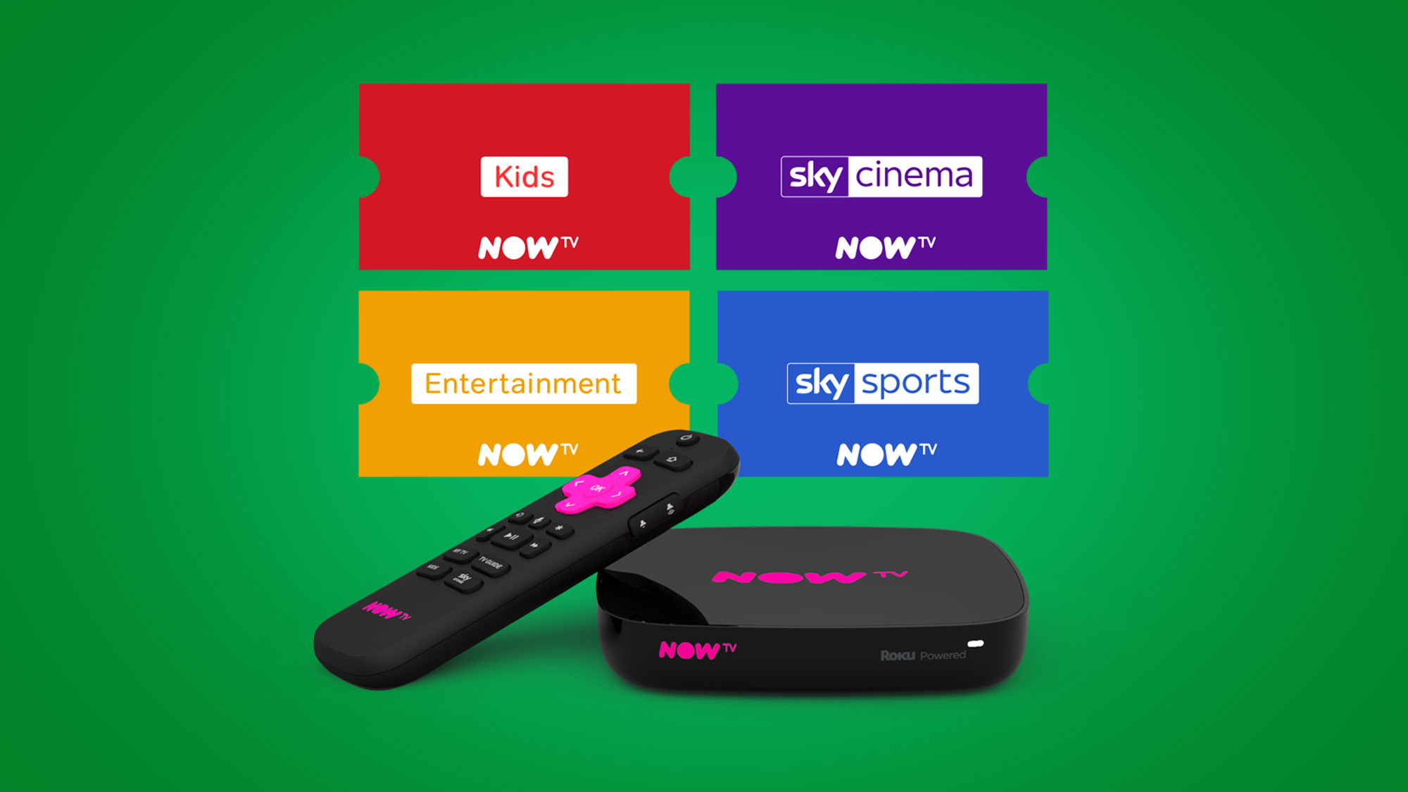 The best Now TV pass offers, boxes and voucher deal prices in August 2019