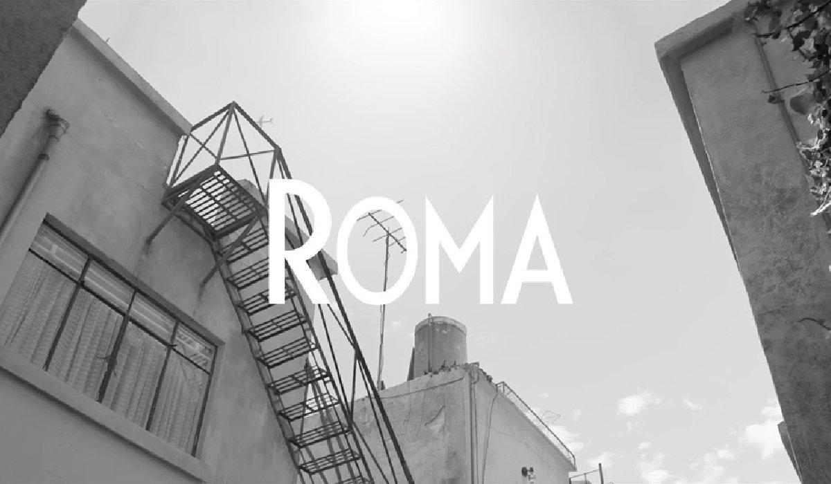 Roma title card