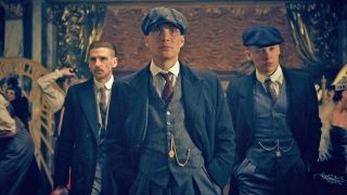 The cast of Peaky Blinders, which is returning for season 6 on the BBC and Netflix.