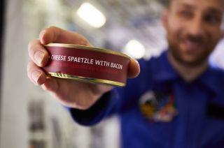 lufthansa space food astronaut