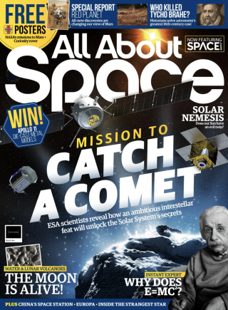 All About Space magazine cover.