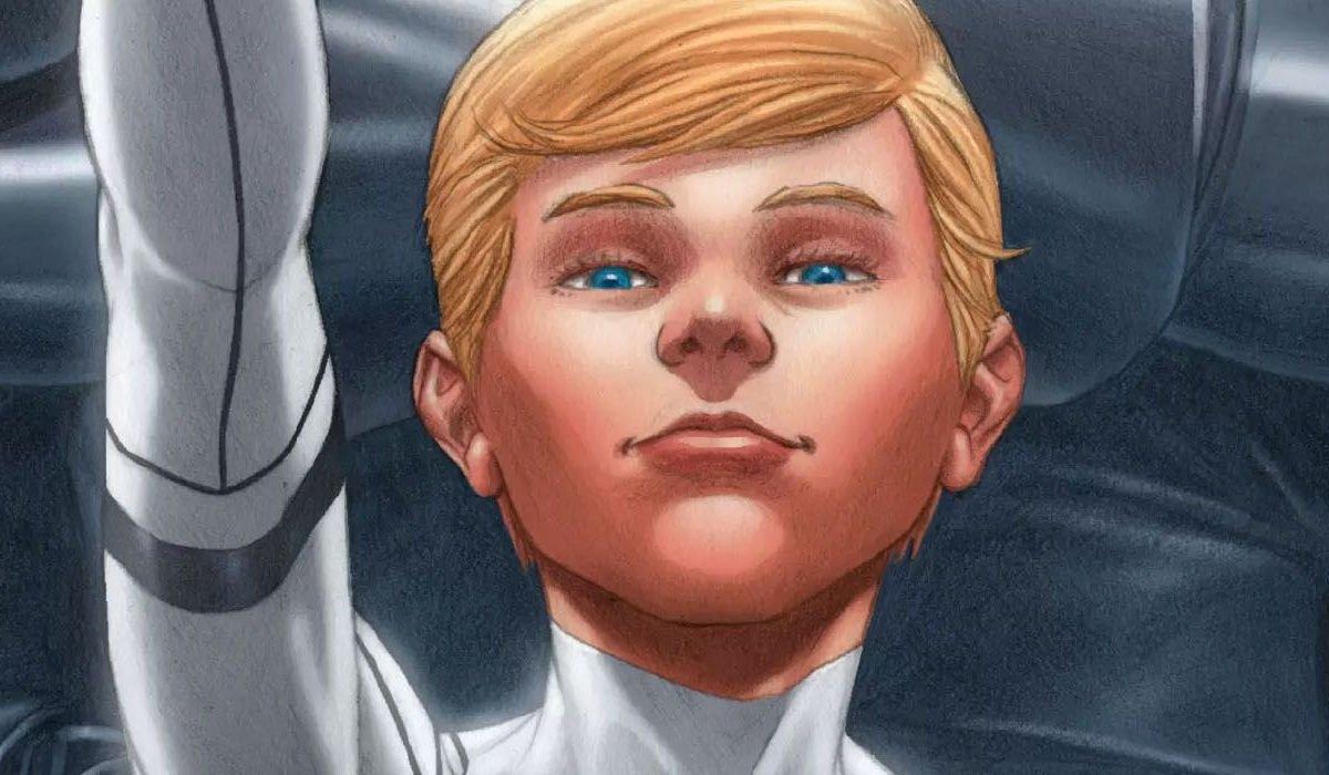 Franklin Richards The Fantastic 4 Marvel