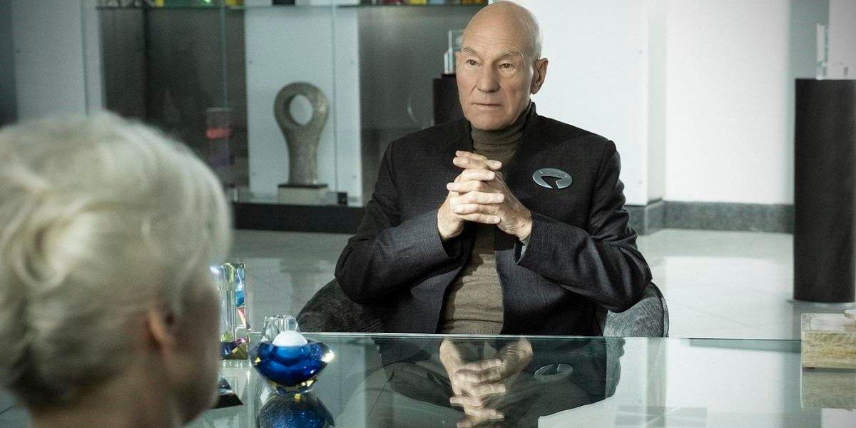 Patrick Stewart Star Trek: Picard CBS All Access