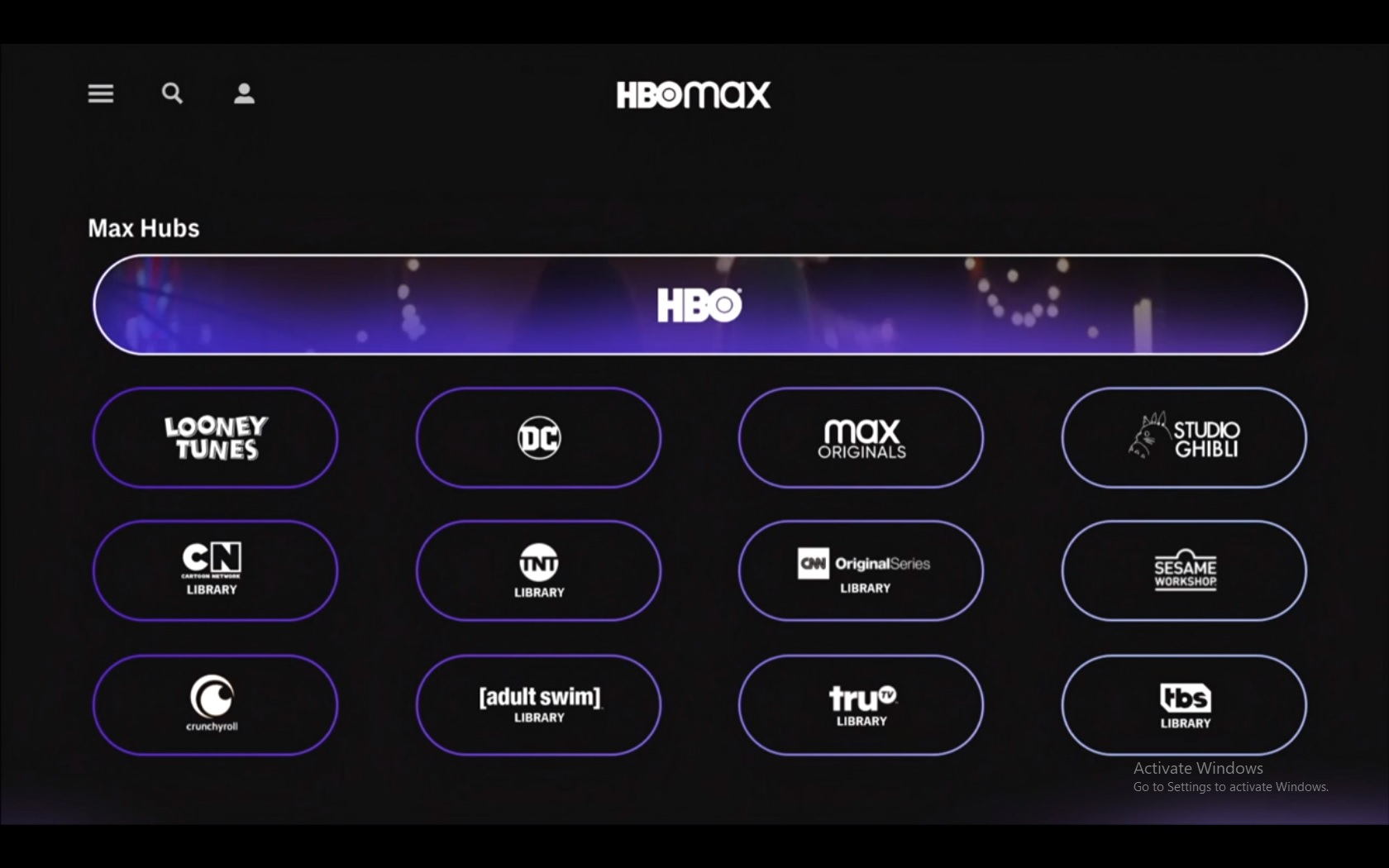 hbo max devices