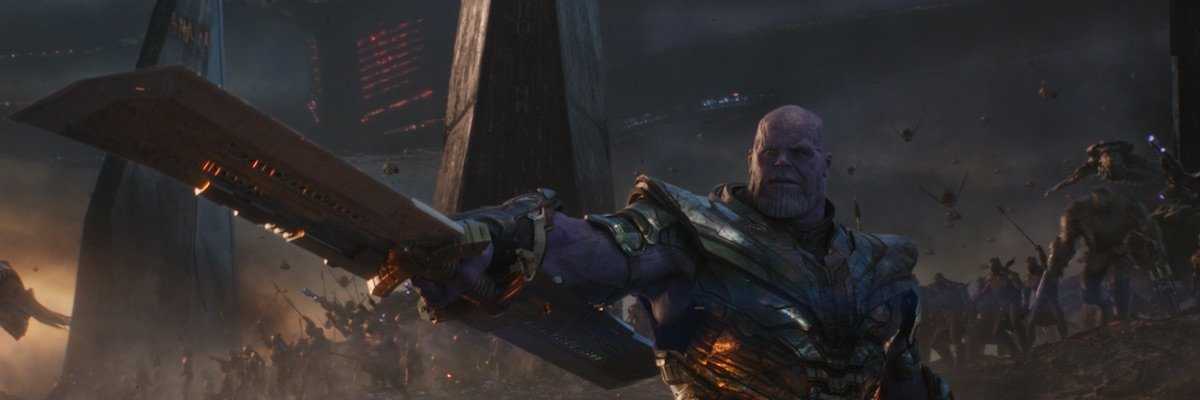 Thanos and his army in Avengers: Endgame