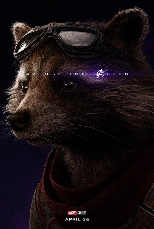 Rocket's official endgame poster