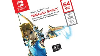 Get your new Nintendo Switch SD cards cheap