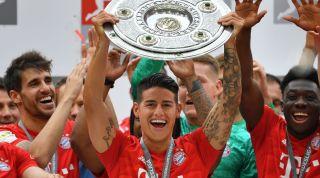 James Rodriguez Bayern Munich Real Madrid Juventus