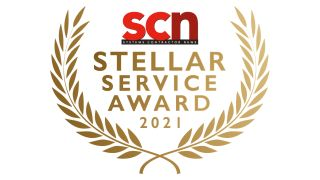 SCN Stellar Service Award 2021 logo
