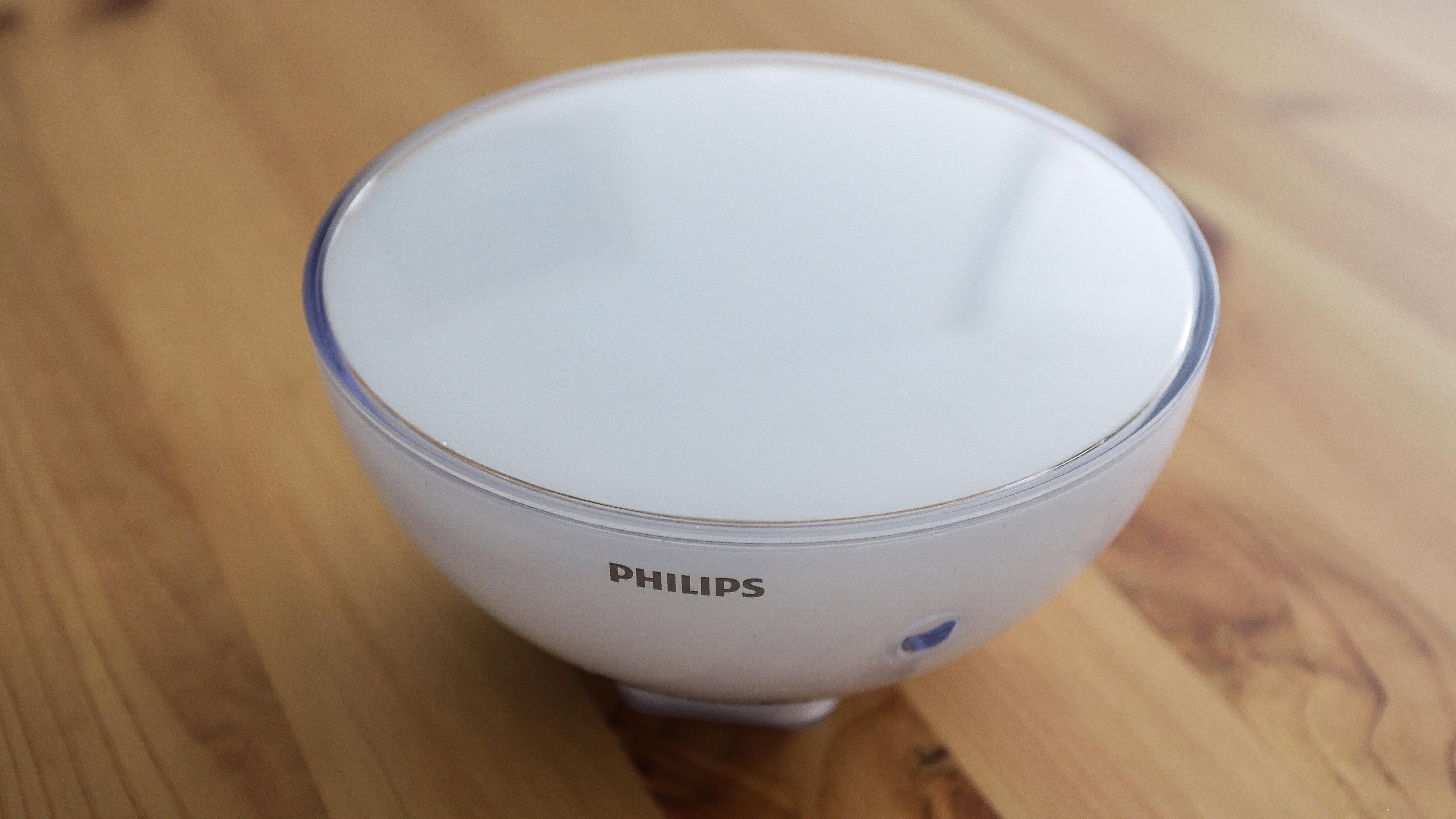 Philips Hue Go 2 on a table