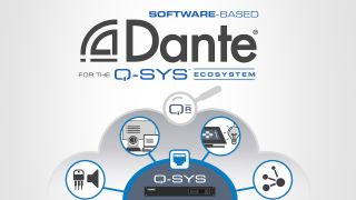 QSC has released Software-based Dante for the Q-SYS Ecosystem.