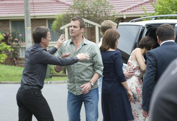Paul's upset when Rebecca leaves