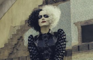 Cruella looking fierce.