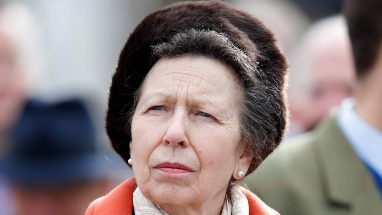 Princess Anne, Princess Royal attends day 1 'Champion Day' of the Cheltenham Festival 2020