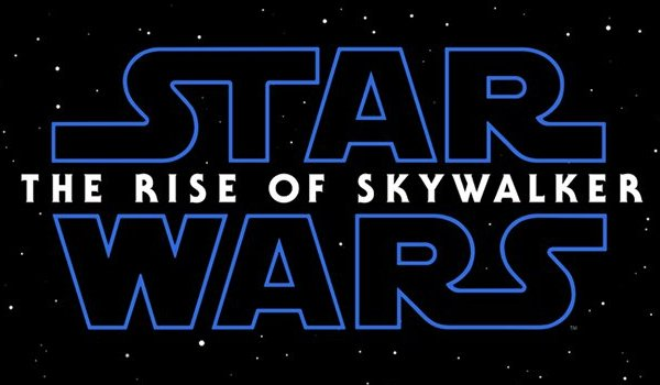 Star Wars: The Rise of Skywalker title card