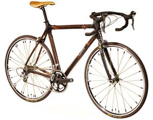 A Craig Calfee bamboo bike.