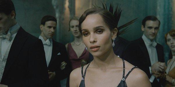 Zoë Kravitz as Leta Lestrange in Fantastic Beasts: The Crimes of Grindelwald