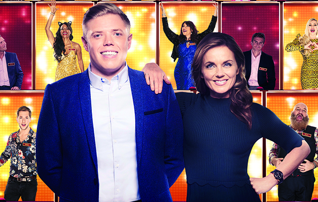 All Together Now: Geri Horner returning to singing competition with Rob Beckett