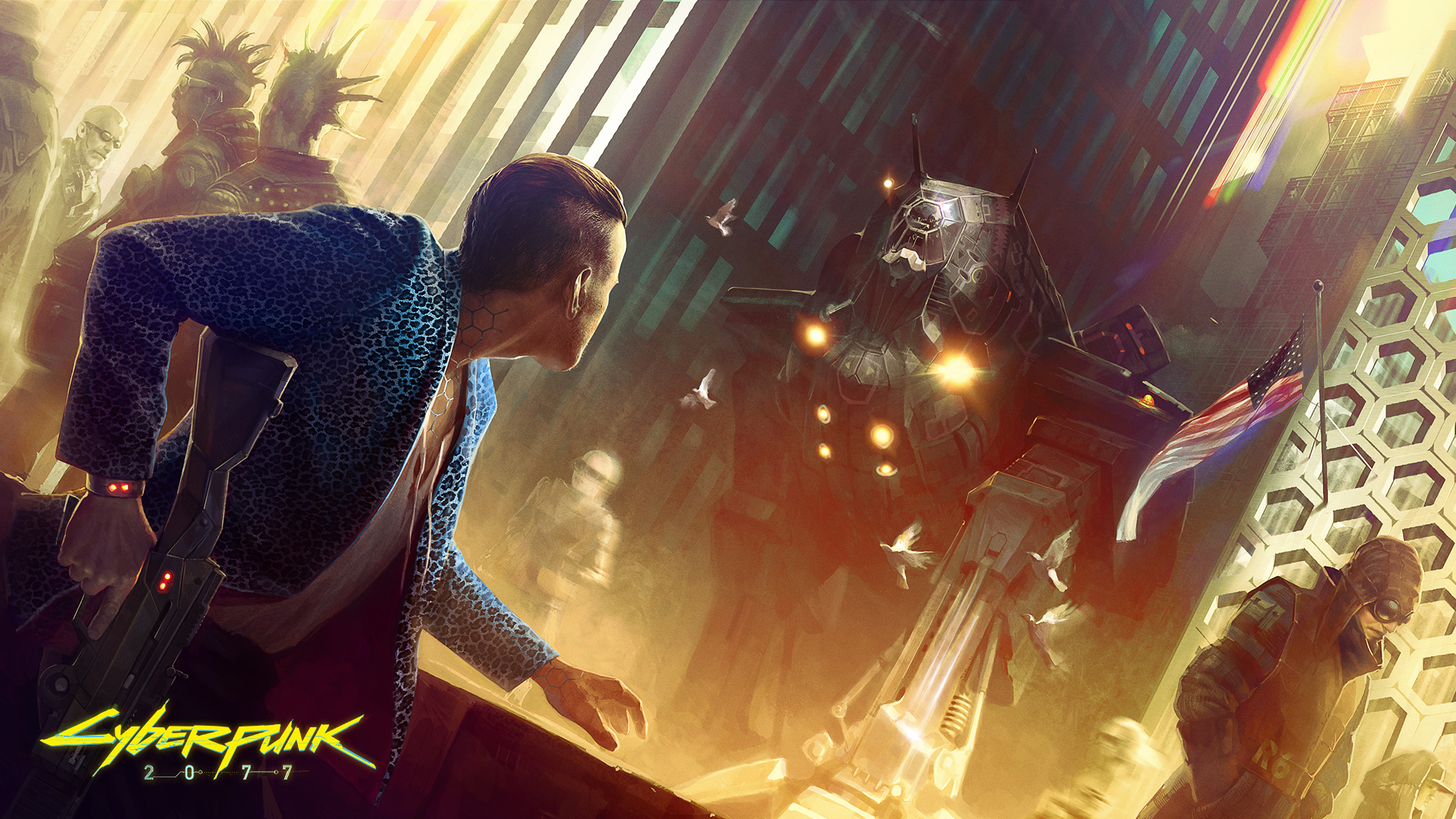 Cyberpunk 2077 Will Include Online Elements To Ensure Long Term