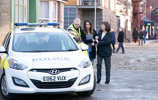 Coronation Street spoilers: Carla Connor is arrested!