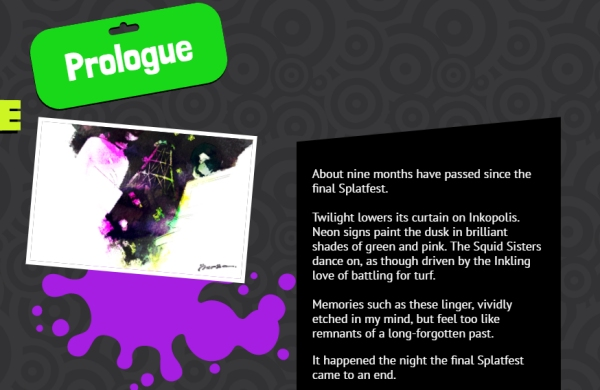 Squid Sister Stories