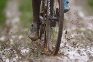 Cyclocross: 50th Otegem 2018 Illustration / Mud / © Tim De Waele