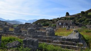 After the Greeks triumphed over the Carthaginians at the First Battle of Himera in 480 B.C., the Greeks had the Temple of Victory at Himera (shown here) built.