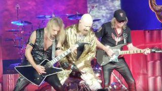 Judas Priest performing live