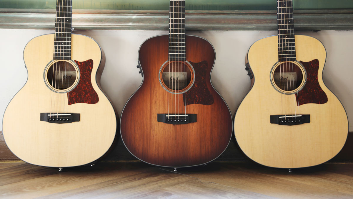 Summer NAMM 2019: Cort launches nicely spec'd Little CJ compact acoustic electric guitar | MusicRadar