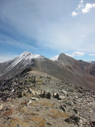 Torreys and Grays Peaks in Colorado