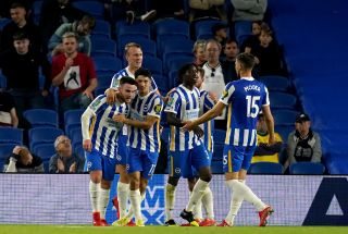 Brighton and Hove Albion v Swansea City – Carabao Cup – Third Round – AMEX Stadium
